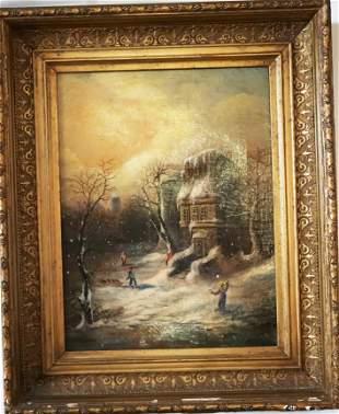 Alexander Kellock UK 18491922 Signed Oil on