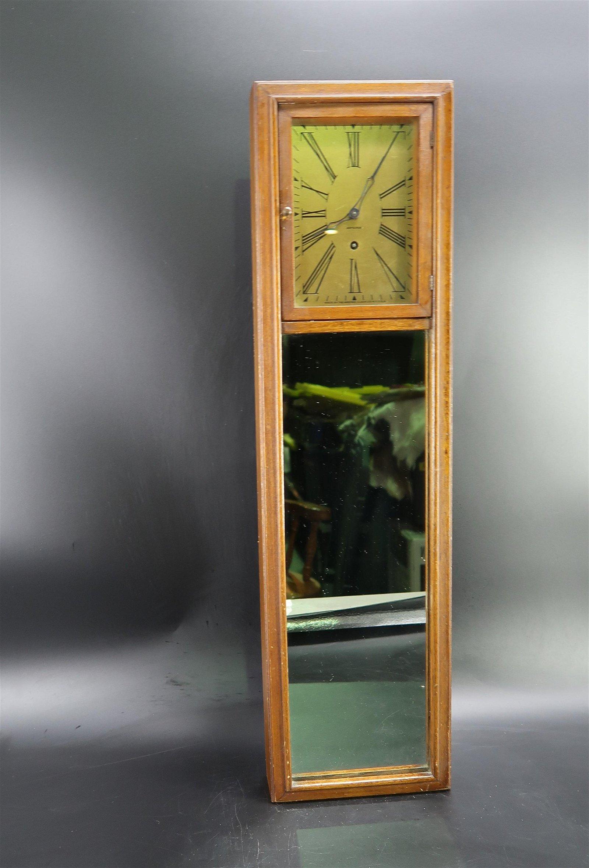 Ansonia Clock Co. USA mirror great design Post Modern