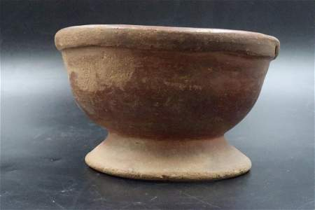 Monumental Mid 15th Century Bowl texture & earthy Euo.
