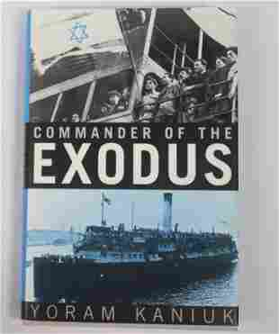 Commander Of The Exodus Signed Helmsman Exodus Book
