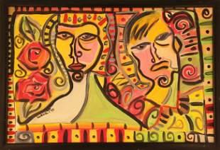 Linda Tohar Painting Signed