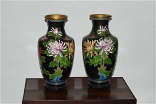 Cloisonn Vases