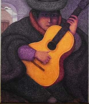 Ernesto Gutierrez Original Guitar Player