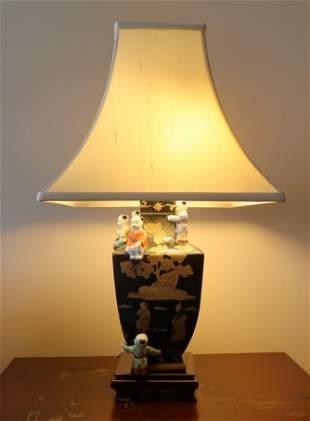 Asian Style Ceramic Lamp