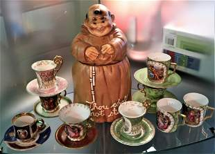 Vintage Royal Vienna Porcelain Cup & Saucer
