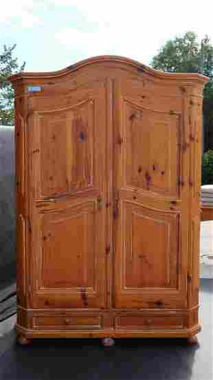 Armoire Knotty Ponderosa Pine By Old Say Brook