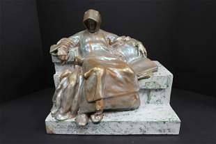 Zsolnay Sculpture Iridescent Antique
