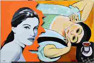 Ilkin Deniz and Original with Henri Matisse Two Women