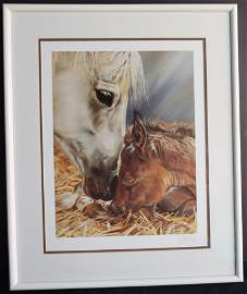 ti McElray 148 of 500 hand signed Sift Horses