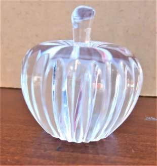 Waterford Crystal Apple