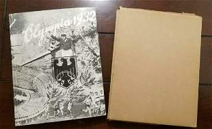 German Olympics Books 1932 Olympia w/ Dust Cover &