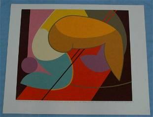 "by Salvatore Milichev ""Olympics"" Screen Print"