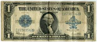 1923 $1 Silver Certificate United States