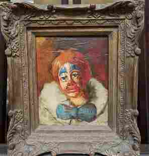 Oil on Canvas original Clown