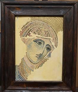 Virgin Mary Mosaic Turkish