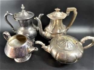 Victorian Tea and Coffee Pots