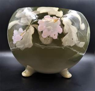 Weller Important Art Pottery Footed Jardiniere Bowl