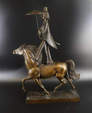 Bronze Horse & Clown Prince Monyo