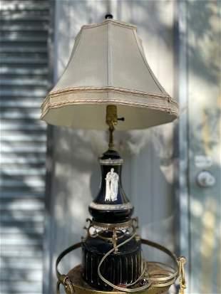 Antique Greek & Roman Pattern Lamp