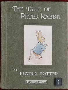 Beatrix Potter, The Tale of Peter Rabbit, First