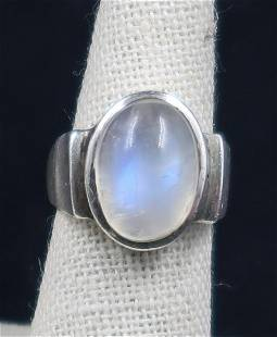 Ring Silver mood Ring Size 6.5 Ring