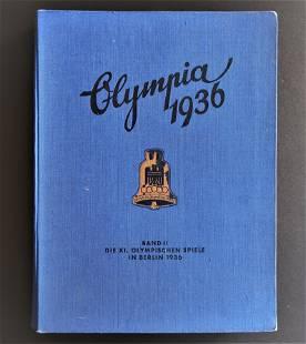 1936 Summer Olympics Cigarette Card Stamp German Album