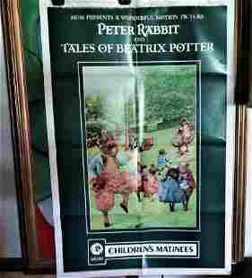 TALES OF BEATRIX POTTER movie poster - original R1973