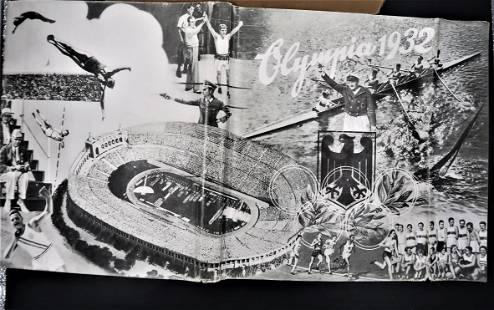 German Olympics book 1932 Olympia Book w Dust cover and