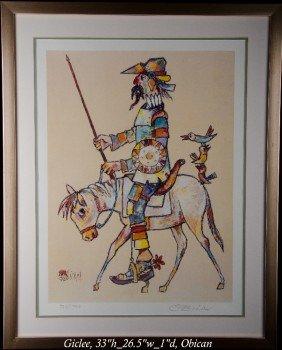 15: Jovan Obican (1918-1986), signed/numbered ??.  Fram