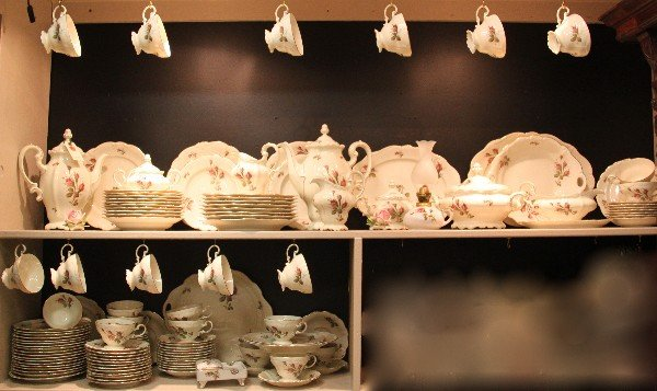 99: Rosenthal fine china set.  133 count.  Height= N/A(