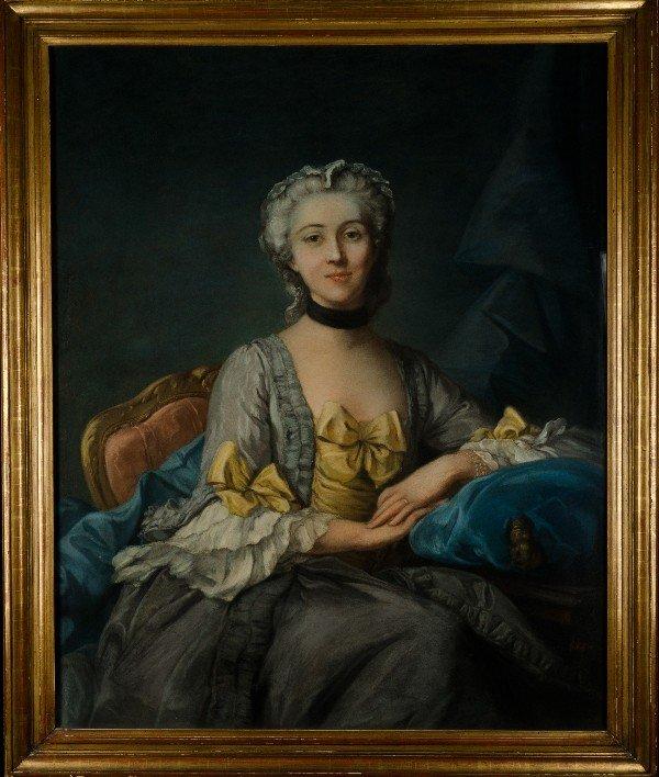 129: Marie Louise Elisabeth Le Brun (Attributed) (1755-