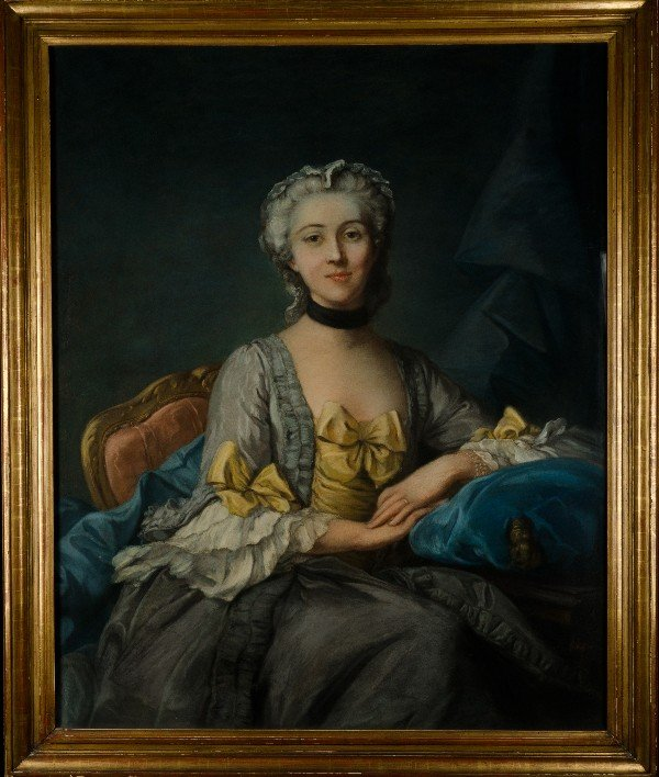 129: Marie Louise Elisabeth Le Brun (Attributed) (1755-