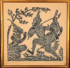 13: Thai Temple Rubbing