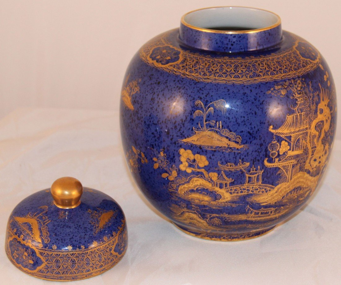 17:Antique 1930's Stoke on Trent/Wilton Ware Ginger jar