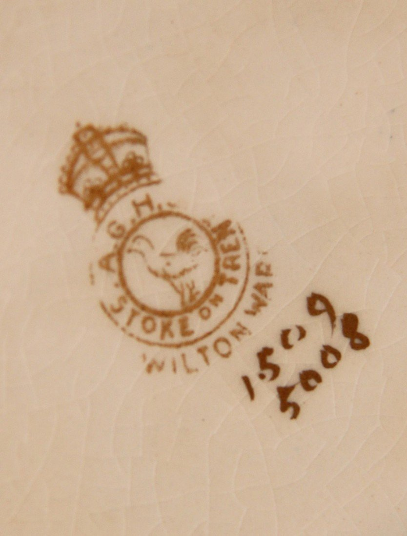 17:Antique 1930's Stoke on Trent/Wilton Ware Ginger jar - 2