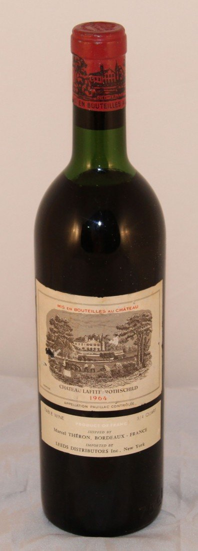 14: Vintage  Wine, 1964 750ml Chateau Lafite Rothschild
