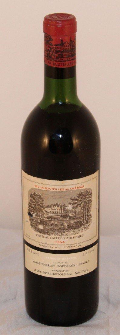 14: Vintage  Wine, 1964 750ml Chateau Lafite Rothschild
