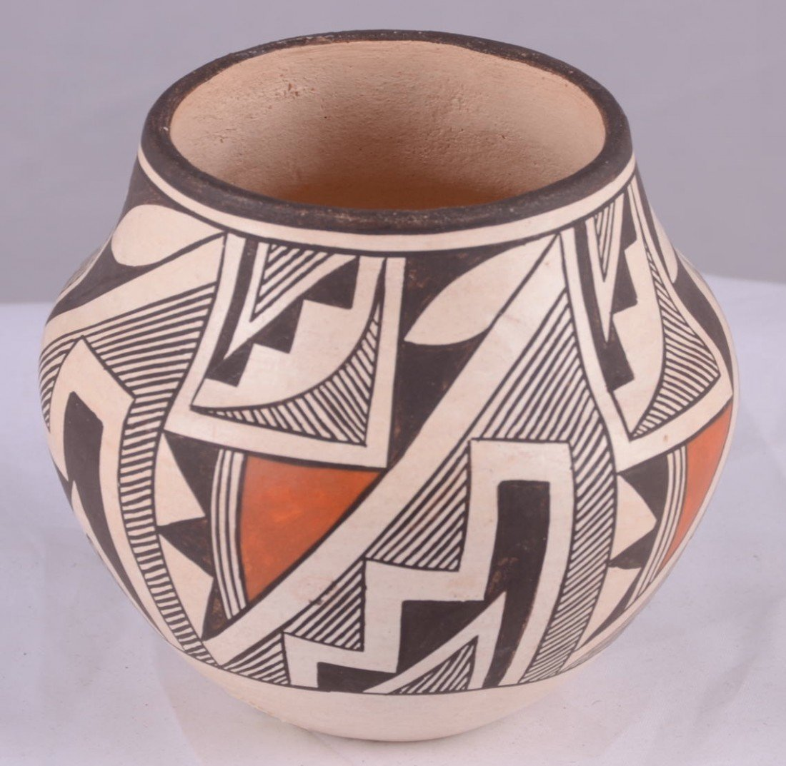 1: Native American Indian Acoma Pottery by Edna G. Chin