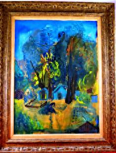 "66: Ludwig Bemelsmans, painting, ""St. Cloud"""