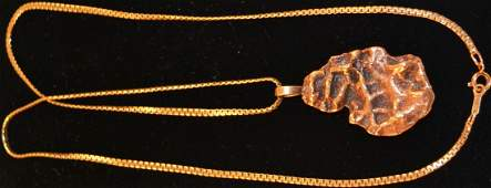 110: 14kt Gold nugget