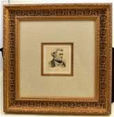 Corot original etching