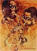 Leroy neiman lithograph