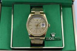 Mens Rolex watch presidential oyster perpetual