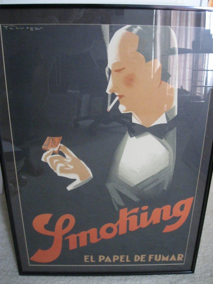 """103: Ricard Fabregas """"Smoking El Papel de Fumar"""" 1925"""