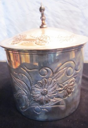B. Tobert Vintage Silverplate Ice Bucket