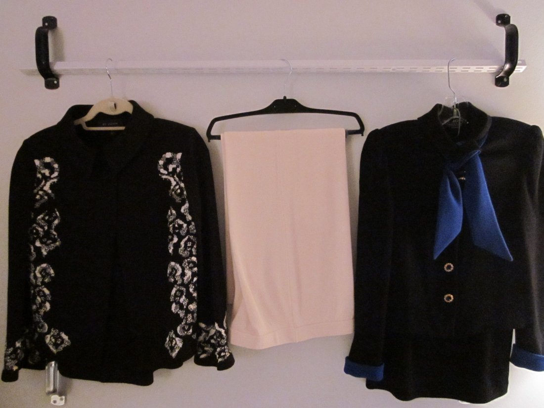 170: Lot of St. John Pants and Suits Size 4, 6