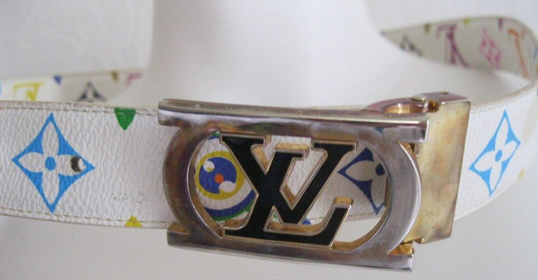 221: Louis Vuitton Multi-Color Belt