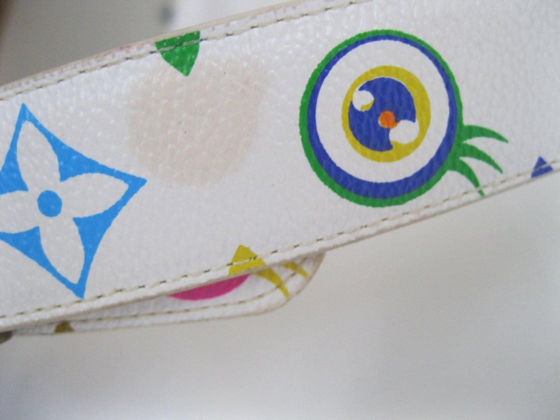221: Louis Vuitton Multi-Color Belt - 2