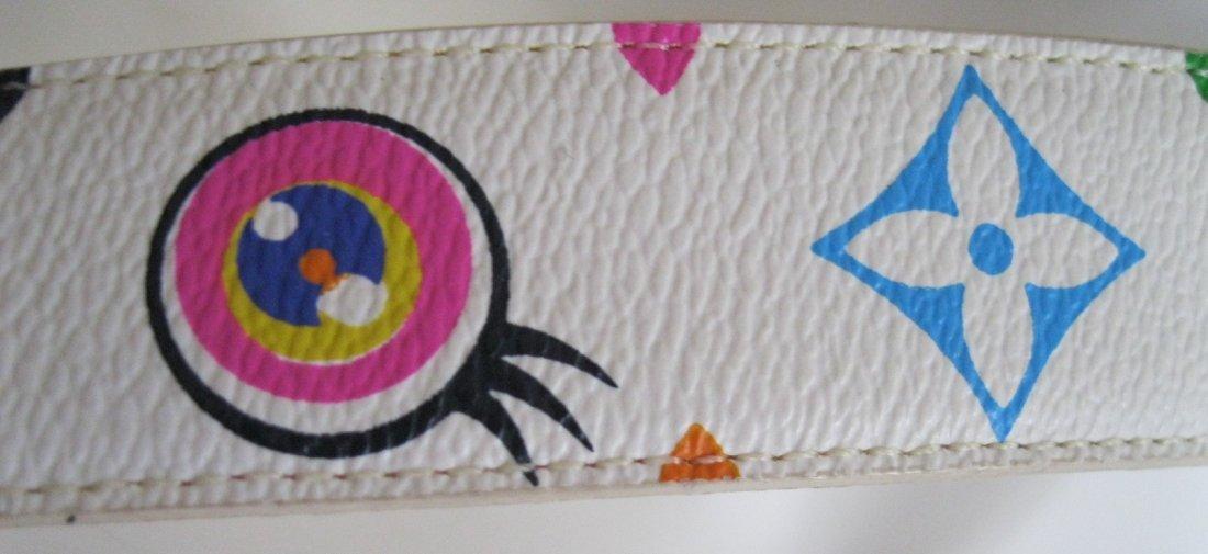 221: Louis Vuitton Multi-Color Belt - 3