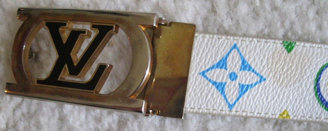 221: Louis Vuitton Multi-Color Belt - 5